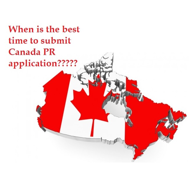 Right Time to Apply for Canada PR