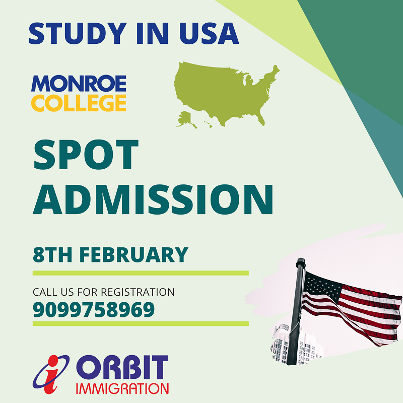 Spot Admission to Study in US